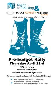 2015 Budget Rally Poster